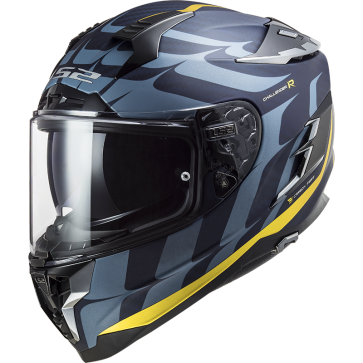 Casco Challenger CT2 Flames carbon oro