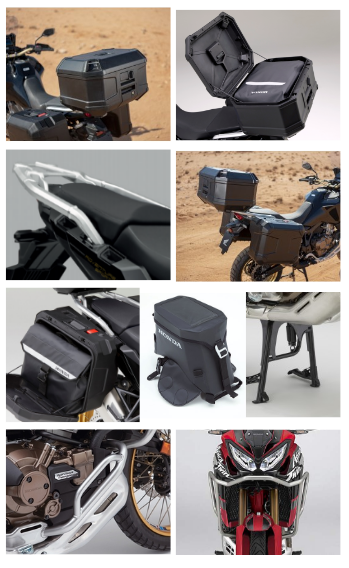 Travel Pack Plastic, Africa Twin Standard