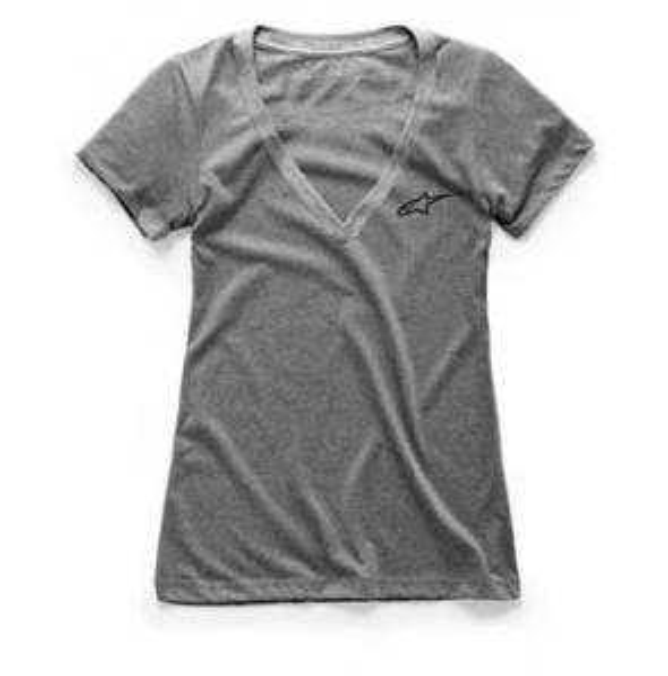 Camiseta logo cuello en pico