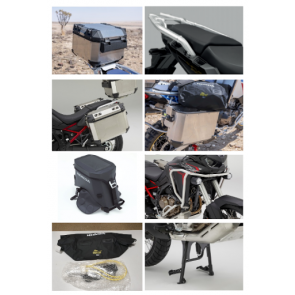 Travel Pack Aluminio, Africa Twin Standard